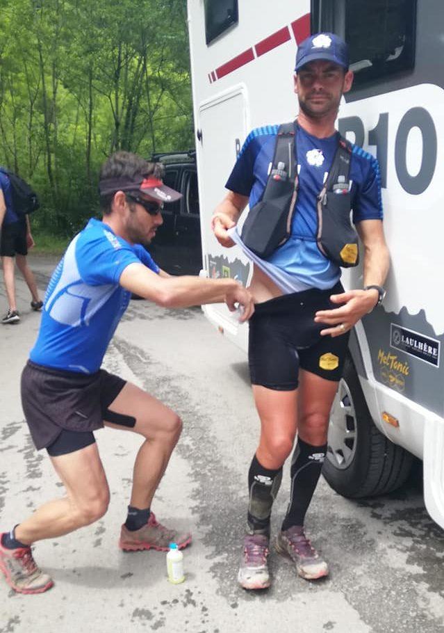Erik Clavery souffre de la hanche sur sa tentative de record du GR10