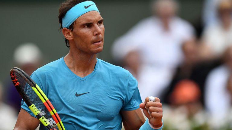 Rafal Nadal Déterminé à Roland Garros