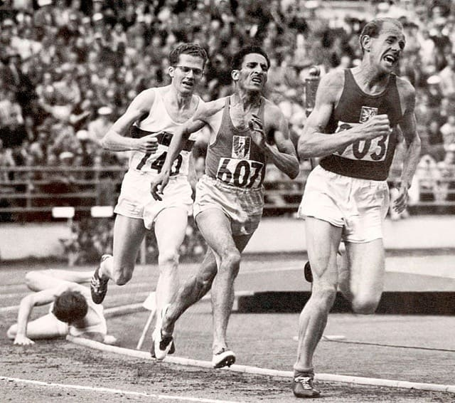 Born To Run : Emil Zatopek